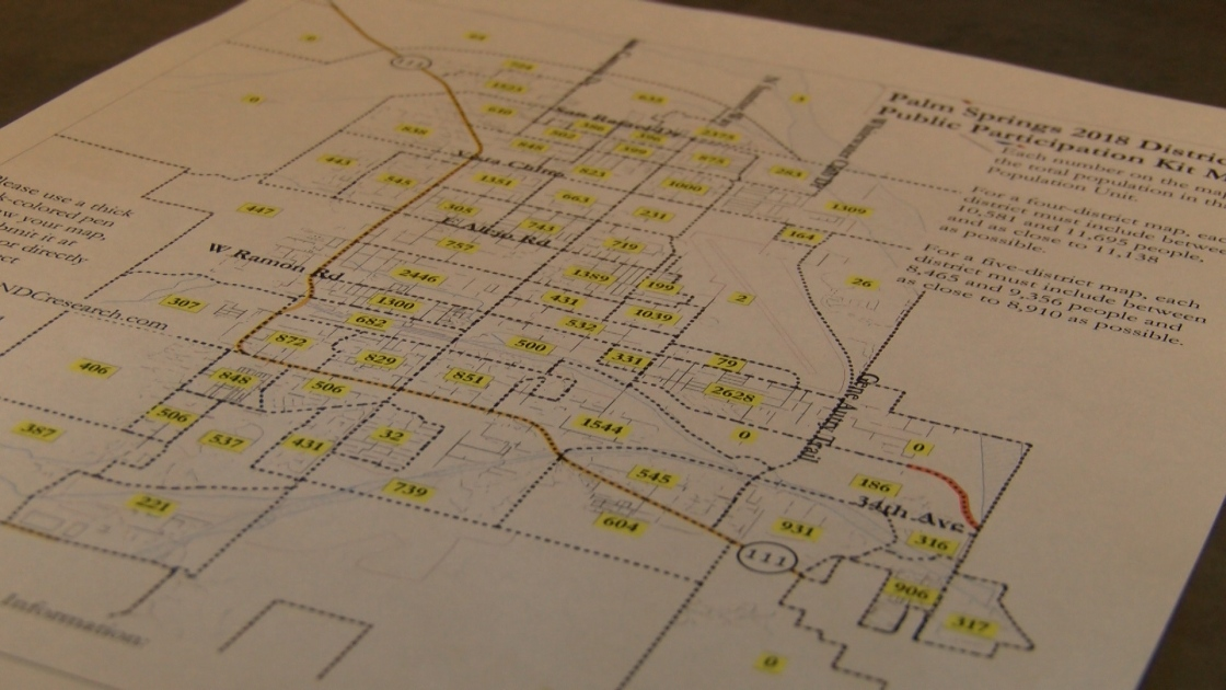 Palm Springs encourages residents to help draw district election maps