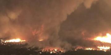 Fire tornado killed firefighter near Redding, California