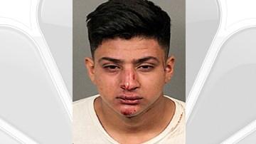 Alleged Drunk 18 Year Old Destroys Classic Car, Caddy, Garage