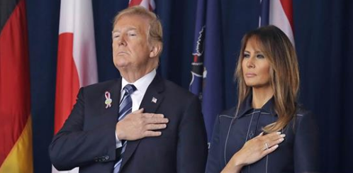 Trump honors 'a moment when America fought back' at Flight 93 memorial