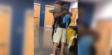 A School Janitor Couldn't Afford His Dream Sneakers, So a Student Gifted Him a Pair
