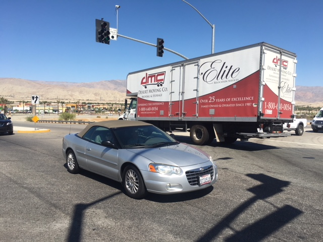 Questionable Intersection In Indio A Cause For Concern? You Ask. We Investigate.