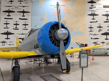 Locals Take Closer Look at Key Aircraft Trainer used in WWII