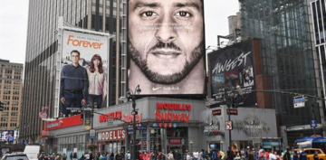 Nike sales are up 31 percent since the Kaepernick campaign