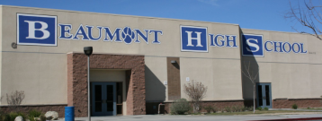 Police Patrol Beaumont High School Following Threat of Shooting on Campus