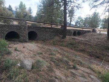 Rainfall Causes Concerns of Flooding and Mudslides near Idyllwild