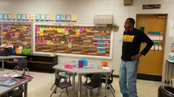 Kindergartners sign 'Happy Birthday' song to custodian who is deaf