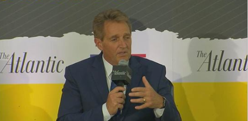 Sen. Flake says he was 'troubled' by Kavanaugh's partisan tone at hearing