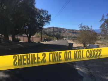 Homicide Suspect Arrested After Officer Involved Shooting in Morongo Valley