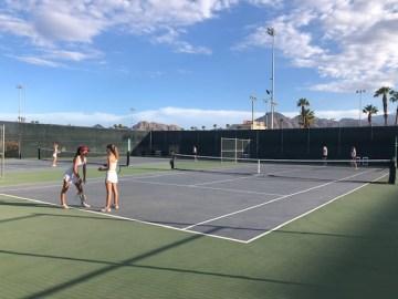 Palm Desert Girls' Tennis Outright Desert Empire League Champions