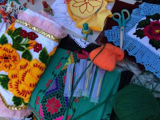 Generational embroiderer keeps her Mexican indigenous roots alive