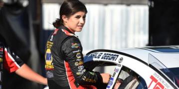 SoCal Teen Hailie Deegan Becomes 1st Female Winner in NASCAR K&N