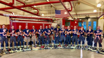 Oceanside Fire Department Welcomes 17 Babies in One Year