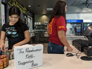 Student-Ran Café Invites Business from Indio Community