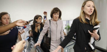 Collins to vote 'yes' on Kavanaugh, virtually ensuring his confirmation
