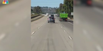 Watch: Airplane Lands on Interstate 8 in El Cajon, East of San Diego