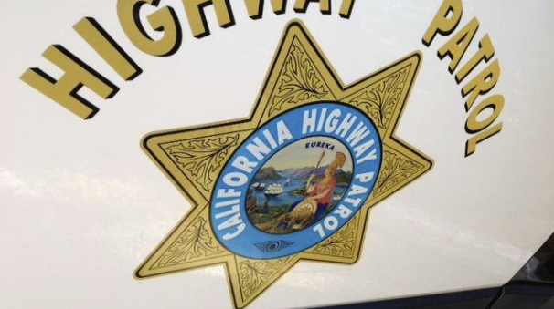 CHP Vehicle Hit by Pickup While Pulled Over; No Injuries Reported