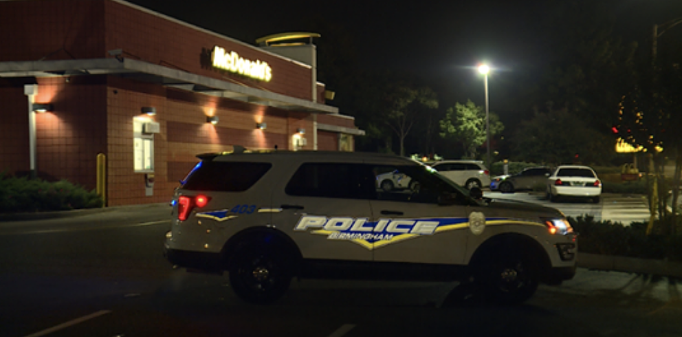 'Hero' dad eating with sons kills masked man who opened fire inside McDonald's