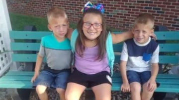 'There are no words': Three kids from same family struck, killed at Indiana school bus stop