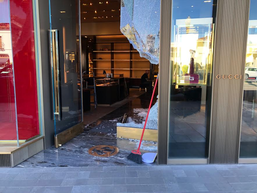 Brazen El Paseo Thieves Still At Large