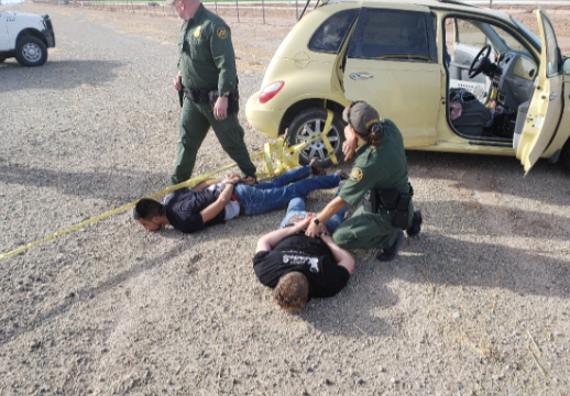 Border Patrol Utilizes New Immobilization Device to Stop  Fleeing Vehicle
