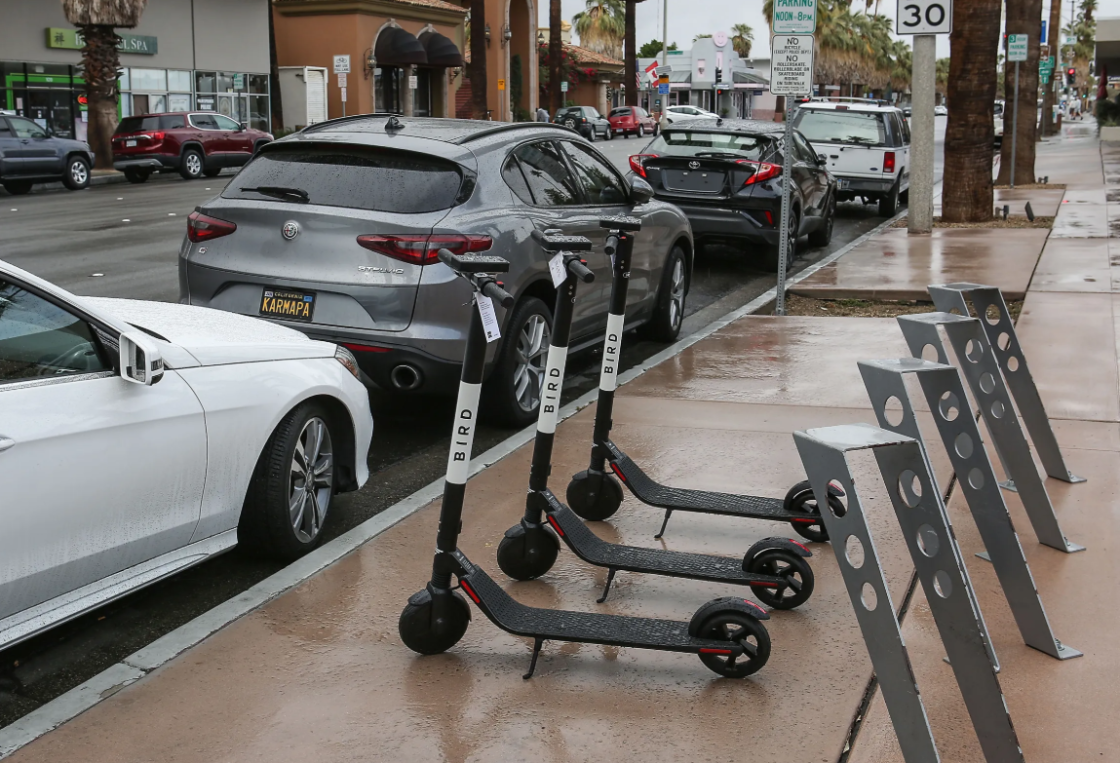 Palm Springs Bans Bird Scooters Until Public Can Weigh In