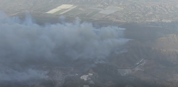 Brush Fire Erupts to Thousands of Acres Near Newbury Park
