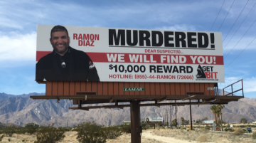 Billboard For Murdered Jiu-Jitsu Instructor Erected In Palm Springs
