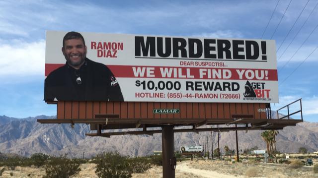 Billboard For Murdered Jiu-Jitsu Instructor Erected In Palm Springs