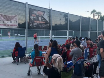 Longest Postseason Run In 8-Years Ends For Palm Desert Girls' Tennis