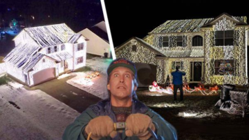 This Ohio Christmas display was inspired by the great Clark Griswold himself