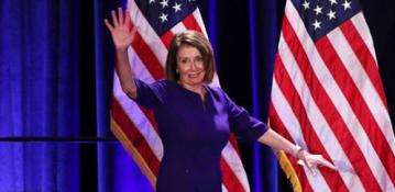 Watch Pelosi speech celebrating Democrats taking control of House