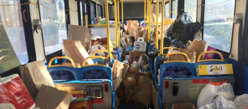 Fill the Bus Food Drive at Three Coachella Valley Locations