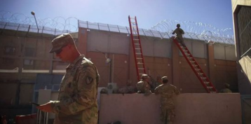 Along southern border, numerous Army barricades, no sign of migrant 'invasion'