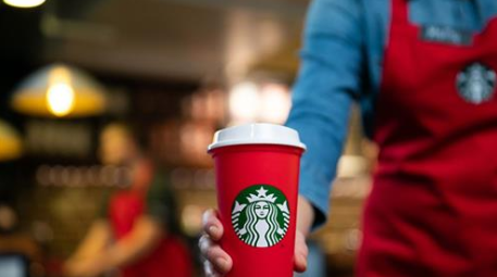 Starbucks is giving away free cups, and they'll make your coffee cheaper all winter