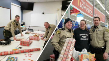 Deputies take woman who couldn't afford Christmas on shopping spree