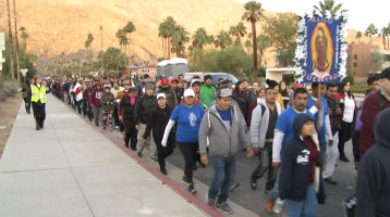 Thousands of Parishioners Embark On A 32 Mile Trek
