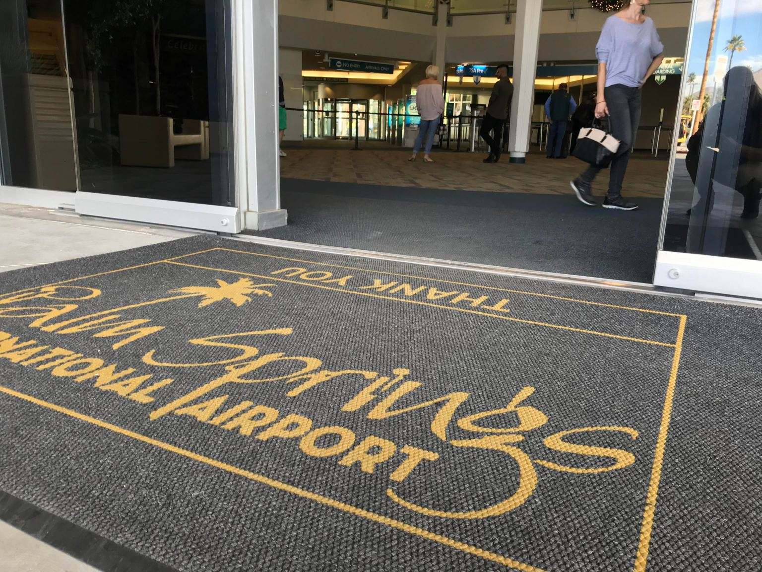 Palm Springs International Airport Reports Sizable Uptick in Air Travel