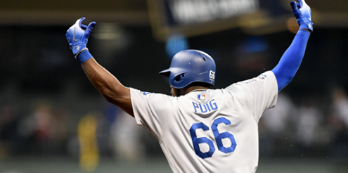 Former Dodger Yasiel Puig just became an American citizen