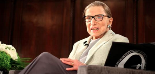 Ruth Bader Ginsburg returns to Supreme Court bench after stomach bug