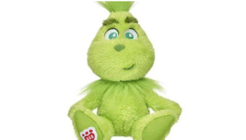 Build-a-Bear releases plush Grinch just in time for holidays