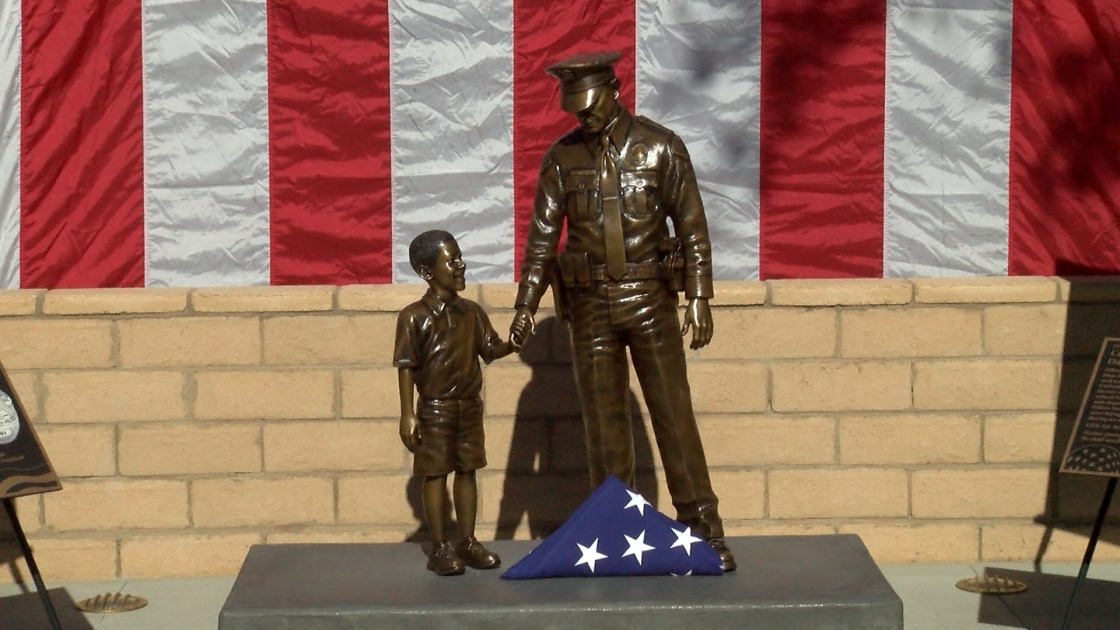 Memorial for Cathedral City Police Officers