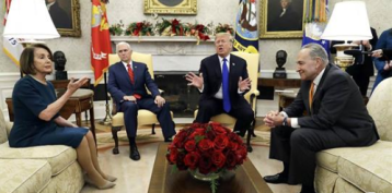 In public fight with Democrats, Trump says he would be 'proud' to shut down government over border wall