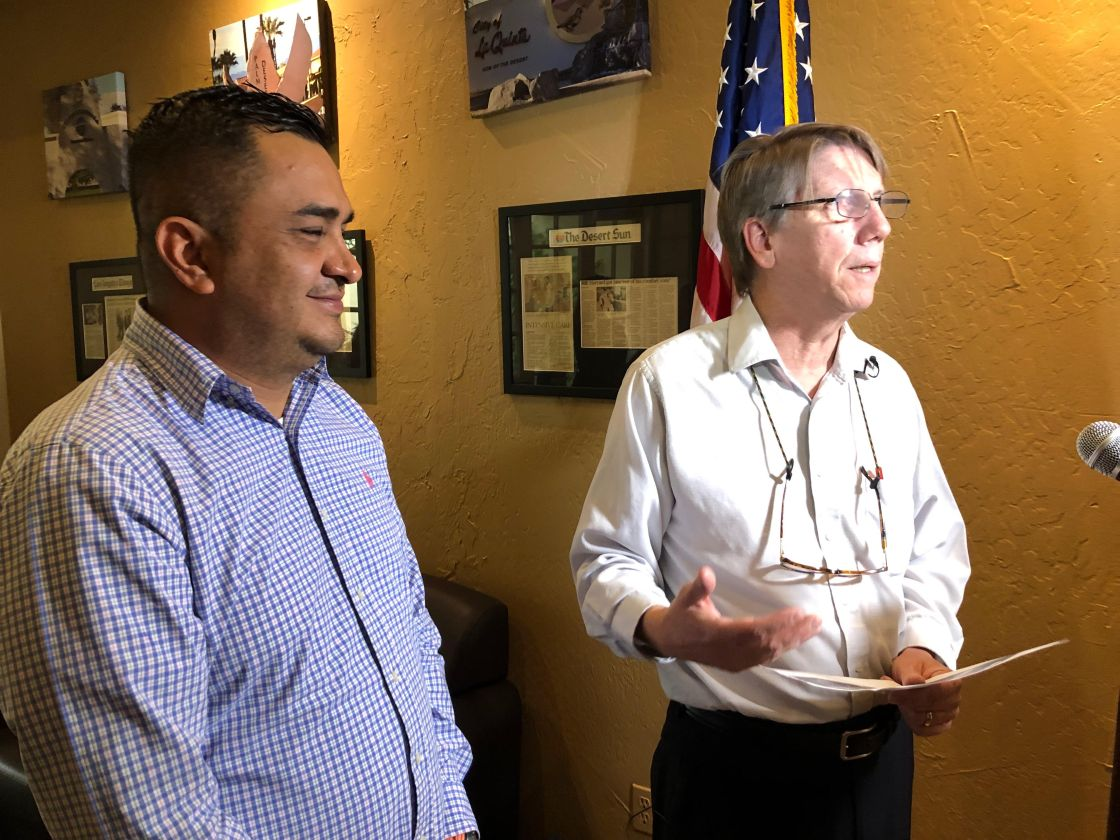 ICUC Leaders Present Ideas To End The Border Crisis To Congressman Raul Ruiz