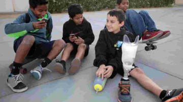 Youth Who Lost Leg to Walk in Tournament of Roses Parade