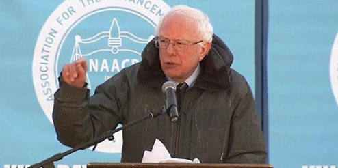 Bernie Sanders calls President Trump 'a racist' in Martin Luther King Jr. Day speech