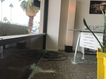 Several Downtown Palm Springs Stores Vandalized