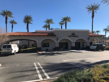 Suspect At Large Following Indian Wells Bank Robbery