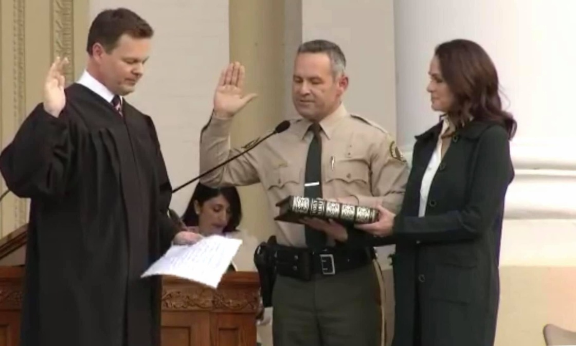 Sheriff Bianco Commits to Change as He's Sworn In