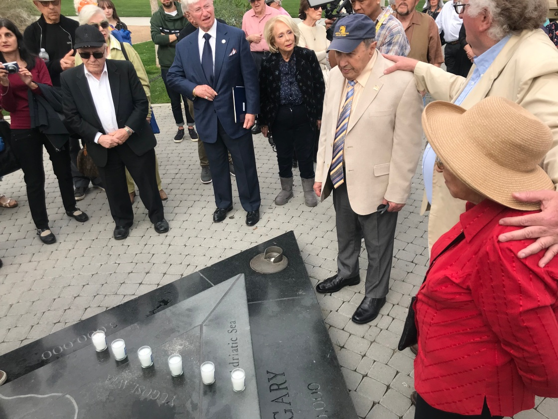 Holocaust Survivors and Students Attend Remembrance Event